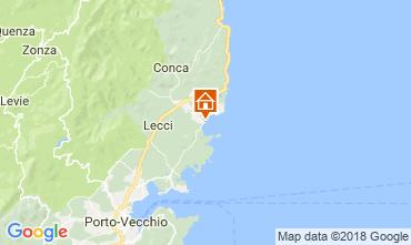 Map Ste Lucie de Porto Vecchio House 114349