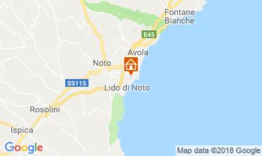 Map Noto Villa 117431