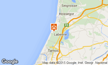 Map Labenne Oc�an Mobile home 71427