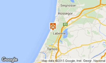 Map Labenne Océan Mobile home 71427