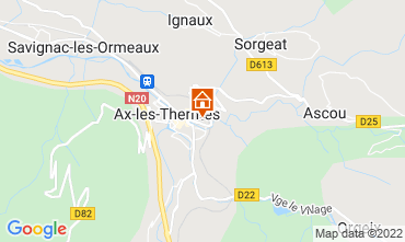 Map Ax Les Thermes House 108174