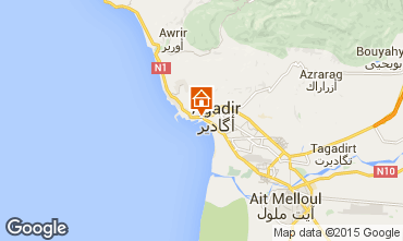 Map Agadir Apartment 54064