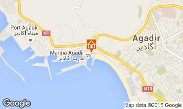 Map Agadir Apartment 54064