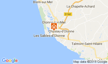Map Les  Sables d'Olonne House 113303