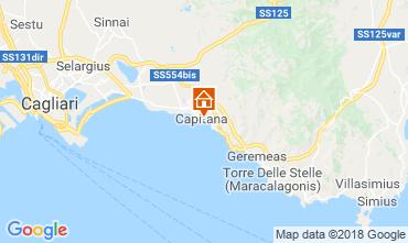 Map Quartu Sant'Elena House 116440