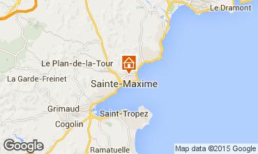 Map Sainte Maxime Villa 5713