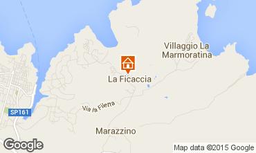 Map Santa Teresa di Gallura Apartment 94107