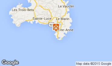 Map Sainte Anne (Martinique) One-room apartment 54186