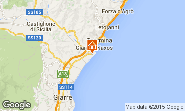 Map Taormina One-room apartment 97424