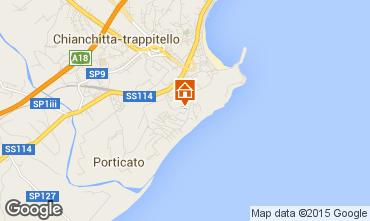 Map Taormina One-room apartment 97424
