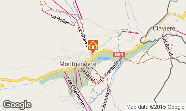 Map Montgenevre Apartment 73627