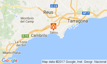 Map Salou Apartment 75522