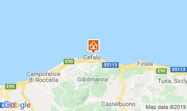 Map Cefal� Apartment 70619
