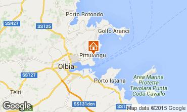 Map Olbia Apartment 79683