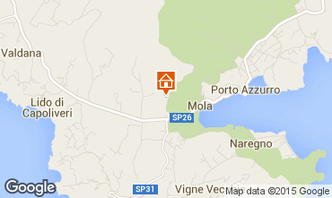 Map Porto Azzurro Apartment 71341