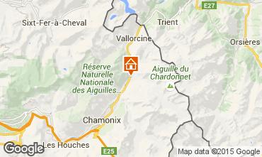 Map Argentière Apartment 80794