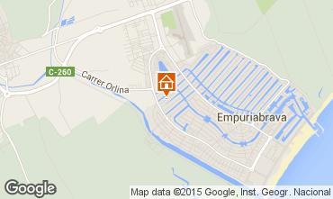 Map Empuriabrava Villa 60583