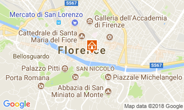Map Florence Apartment 115059