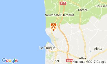 Map Le Touquet Mobile home 108559
