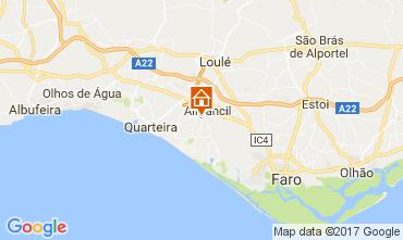 Map Almancil Villa 109411