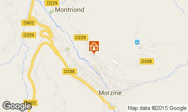 Map Morzine Chalet 76329