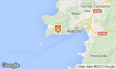Map Ajaccio Apartment 7850