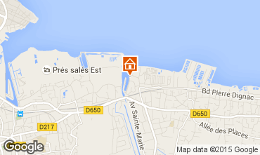 Map Arcachon House 61302