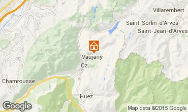Map Vaujany Apartment 39264