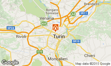 Map Turin Apartment 95955