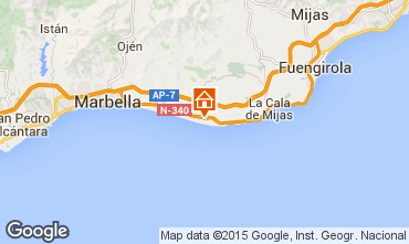 Map Marbella Apartment 24206