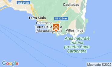 Map Solanas Apartment 80877