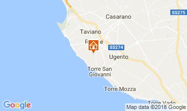 Map Alliste Villa 113836