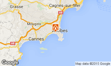 Map Juan les Pins Apartment 68767