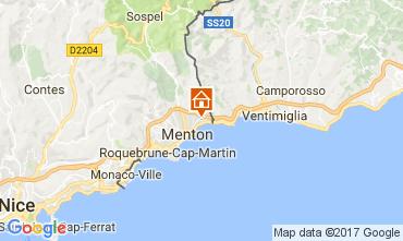 Map Menton One-room apartment 92434