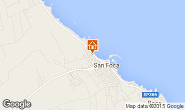 Map San Foca Apartment 54622