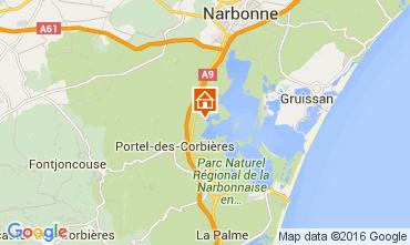Map Peyriac-de-Mer House 104047