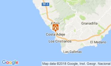 Map Playa de las Américas Apartment 113485