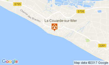 Map La Couarde-sur-Mer Apartment 81402