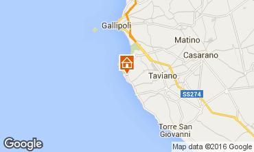 Map Gallipoli Villa 102189