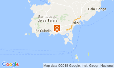 Map Ibiza Bed and breakfast 113290