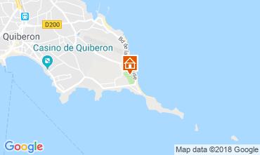 Map Quiberon Mobile home 117587