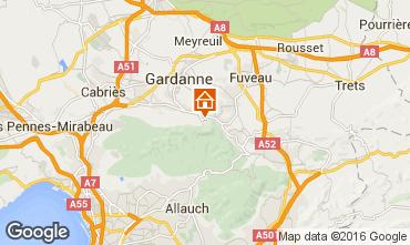 Map Aix en Provence Apartment 21175