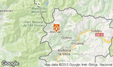 Map Pal-Arinsal Vacation rental 69595
