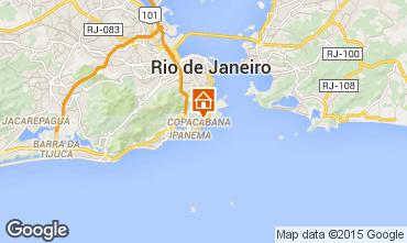 Map Rio de Janeiro Apartment 51824