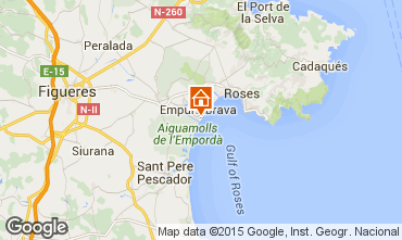 Map Empuriabrava Apartment 56325