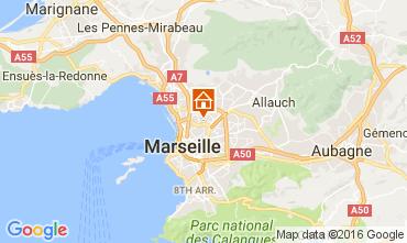 Map Marseille Apartment 107552