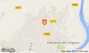 Map Avignon Villa 77033
