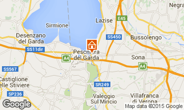 Map Peschiera del Garda Apartment 75893