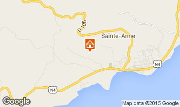 Map Sainte Anne (Guadeloupe) House 8025