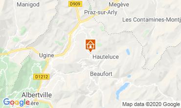 Map Les Saisies Apartment 112224